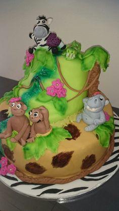 Geburtstagstorte Tiere