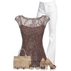 Lace in the summer...., created by cindycook10 on Polyvore