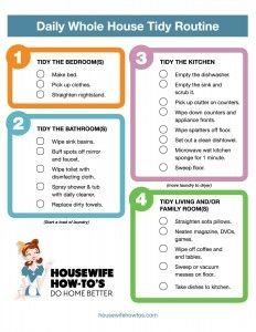 printable home safety checklist cleaning and organizing your home