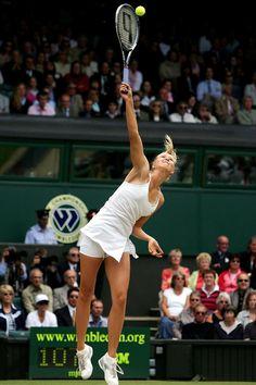 Tennis Clothes, Tennis Outfits, Tennis Players Female, Maria Sharapova, Sports Leggings, Wimbledon, Sports Women, Crushes, Basketball Court