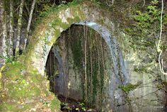 Ruinas de la Real Fábrica de Armas de Eugui, Navarra