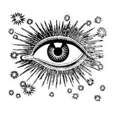 """This All Seeing Eye Poster also inspired my """"Forgotten Ones"""" book cover."""