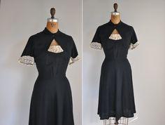 r e s e r v e d...vintage 1940s 40s dress / by simplicityisbliss
