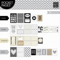 you are awesome pocket pages (journaling cards) from me & my big ideas.