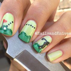 Golf nails