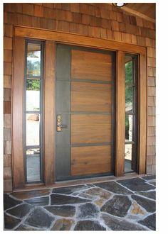 Contemporary Doors - Hills style - Modern - Entry - other metro - by AppWood Doors Door Design Interior, Main Door Design, Wooden Door Design, Modern Interior, Front Door Design Wood, Wood Design, Contemporary Front Doors, Modern Front Door, Rustic Contemporary