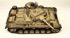 Luca's Wargame Corner: Panzer III Ausf. J DAK colors