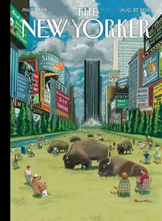 """""""A Greener, Greater New York"""" ~ Bruce McCall 