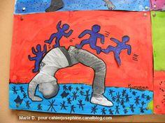 A la manière de...Keith Haring et le pont