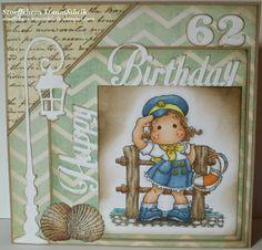 Birthday Card Salute Tilda