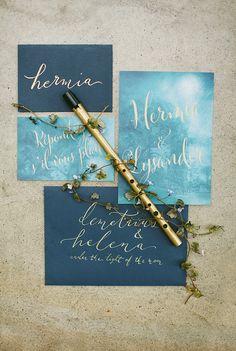 A Midsummer Night's Dream – Confetti Magazine editorial | Paula O'Hara Photography