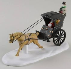 Department 56 Dickens Village King's Road Cab - Boxed