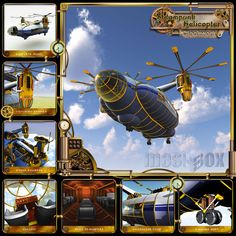 steampunk transportation | About Steampunk Helicopter