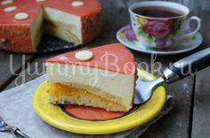 Муссовый торт с персиком - пошаговый рецепт с фото
