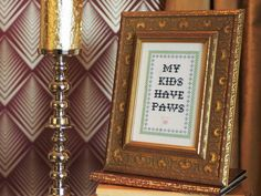 Free Downloadable Subversive Cross-Stitch Patterns and Instructions : Home Improvement : DIY Network