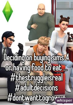 "13 Signs You're Obsessed With ""The Sims"" / For more daily Sims 3 & 4 pins follow http://www.pinterest.com/itsallpretty/the-sims-3-4/"
