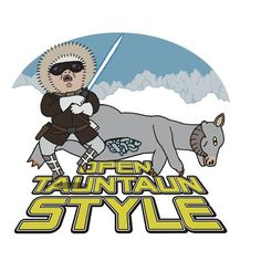 """Open Tauntaun Style"" T-Shirts & Hoodies by Jeremy Kohrs Ewok, Chewbacca, Oppa Gangnam Style, Lucas Arts, Parody Videos, Im A Loser, The Force Is Strong, Star Wars Art, Star Trek"