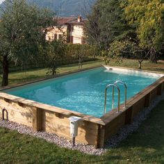 With the summer swimming season just around the corner, now's the perfect time to renovate that backyard and install a swimming pool. Diy Swimming Pool, Luxury Swimming Pools, Above Ground Swimming Pools, Swimming Pool Designs, Above Ground Pool, In Ground Pools, Backyard Pool Designs, Small Backyard Pools, Pool Landscaping