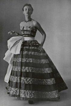 1951 - 'Coup de theatre' Christian Dior Ballgown