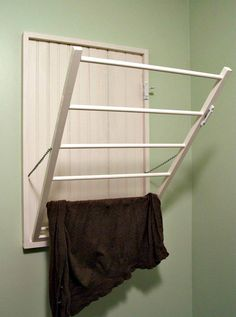 DIY Drying Rack for the wall