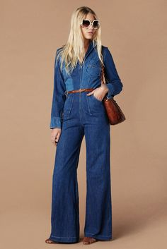 58165e6c555 Miss Blue Jeans Jumpsuit. Jillian Taylor