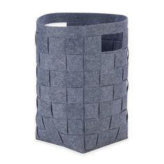 Product Image for Honey-Can-Do® Woven Felt Hamper in Grey 1 out of 2