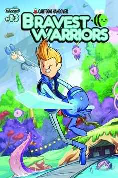 Bravest Warriors #13 (Regular Cover) #Boom #Kaboom #BravestWarriors (Cover Artist: Tyson Hesse & Kory Bing) On Sale: 10/23/2013
