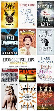 12 must-read ebook bestsellers – summer 2016