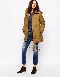 Image 4 ofSessun Deserter Coat in Honey Brown
