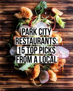 15 of the best restaurants in Park City whether you're looking to eat at a high end, mid-range, or thrifty restaurant. Food Places, Best Places To Eat, Cool Places To Visit, Brunch Outfit, Park City Utah Summer, Park City Ski, Park City Restaurants, Utah Vacation, Summer Vacations
