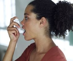 "Home Remedies I wouldn't call these ""Remedies"" but nutritional ways to help lessen asthma. - Have asthma and wondering how to treat it naturally? Try these five home remedies for asthma to start. Home Remedies For Asthma, Natural Asthma Remedies, Asthma Relief, Asthma Symptoms, Natural Cures, Health Remedies, Natural Health, Herbal Remedies, Physical Therapy"