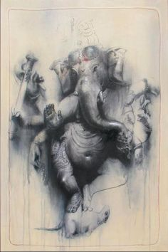 Latest HD Photos, images, HD wallpapers for mobiles # Ganesha Tattoo, Ganesha Art, Krishna Art, Ganesh Idol, Shiva Art, Shri Ganesh, Lord Ganesha, Indian Gods, Indian Art