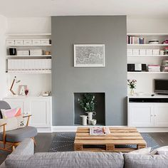 Without a feature a room lacks character and personality, so walk into an already decorated room and see what catches your eye first, and if it isn't what you want it to be, look at how you can incorporate something interesting.