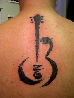 Best music tattoo pic