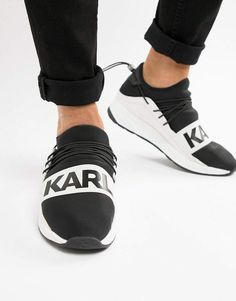 Shop Karl Lagerfeld Vektor Band runner sneakers at ASOS. Latest Fashion Clothes, Fashion Shoes, Mens Fashion, Fashion Menswear, Style Fashion, Asos Online Shopping, Online Shopping Clothes, Karl Lagerfeld Men, Shoe Sites
