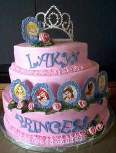 Fondant cake Disney Princess Cake Designs by Tya