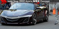 Acura NSX concept...debut at Detroit Auto Show (2012)