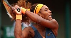 American Serena Williams Is Sunday's Big Winner at Roland Garros fighting in difficult conditions to best Roberta Vinci who played well.just not well enough. Serena Williams Tennis, Sunday, Wrestling, Wellness, American, Big, Roland Garros, Lucha Libre, Domingo