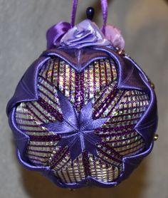Hand made christmas ball.