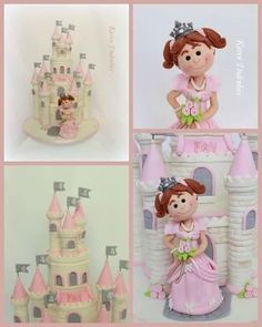 Cheeky little Princess! - Cake by Karen Dodenbier