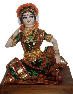 Dance of India Bharatha natyam Doll