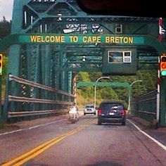 A fond memory and beautiful crossing from the mainland to Cape Breton Cap Breton, Kittery Maine, Places Ive Been, Places To Go, Acadie, Cabot Trail, Canadian Travel, Atlantic Canada, O Canada