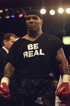 Mike Tyson – Be Real T-shirt http://tshirtsonfilm.com/2014/12/mike-tyson-be-real-t-shirt/ #MikeTyson