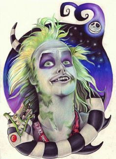 ~Michael Keaten ~As Beetle Juice Beetle Juice ~By Estela Depp ~V'''''V~