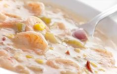Skinny Points – Recipes  » Shrimp and Corn Chowder