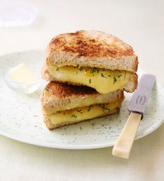 Classic Grilled Cheese #appetizer #recipes