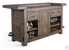 Home Bar Sets, Diy Home Bar, Diy Bar, Bar Table And Stools, Bar Table Sets, Free Standing Bar, Home Bar Plans, Bar Furniture, Rustic Furniture