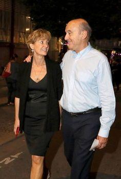 Semi-Exclusif - Alain Juppé, maire de Bordeaux et candidat à la primaire de la droite, et sa femme I