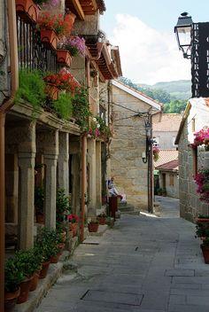 Combarro, Galicia, Spain - Love, love, love this coastal town!!! (August 2014)