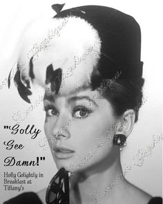 Audrey Hepburn  Breakfast at Tiffany 3 Altered by ChezLorraines, $12.00